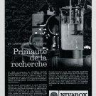 Vintage 1967 Nivarox St Imier Switzerland Swiss Print Ad Publicite Suisse Horology Horlogerie