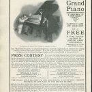 Original 1905 Kranich & Bach Piano Warerooms New York Vintage Early 1900's Magazine Ad
