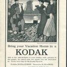 Original 1905 Eastman Kodak Co Rochester NY Vintage Early 1900's Magazine Ad Advert
