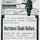 Vintage 1905 Ad for Stewart Hartshorn Shade Rollers Early 1900s Magazine Ad Advertisement