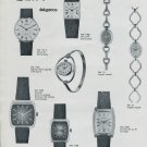 Elix Mougin-Piquard SA Watch Company France 1975 French Ad Publicite Montres