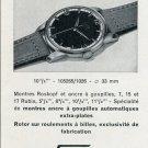 Tenor Watch Company Tramelan Switzerland Vintage 1956 Swiss Print Ad Suisse Publicite