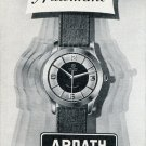 Ardath Watch Co Geneva Switzerland Vintage 1956 Swiss Print Ad Publicite Suisse