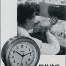 Favag SA Clock Company Neuchatel Switzerland 1947 Swiss Magazine Ad Publicite Suisse Suiza