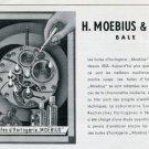 1947 Moebius Watch OilAdvert Vintage Swiss Magazine Ad Publicite Suisse H Moebius & Fils