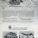 Franz Schrenk Switzerland Vintage 1946 Swiss Print Ad Publicite Suisse Horlogerie Horology