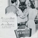 Zenith Watch Co Switzerland Vintage 1946 Swiss Print Ad Publicite Suisse Montres Schweiz