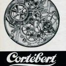 1946 Montres Cortebert Watch Company Switzerland Swiss Print Ad Publicite Suisse