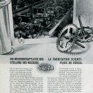 1946 Swiza Clock Company Louis Schwab S.A. Moutier Switzerland Swiss Print Ad Publicite Suisse