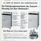 1969 Publicite Elma Machine Co Switzerland Swiss Print Ad Advert Suisse Schweiz