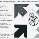 1969 Soparem SA Switzerland Publicite Suisse Vintage 1960s Swiss Print Ad Horology