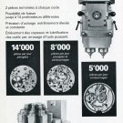 Publicite Henri Hauser SA Bienne Switzerland 1969 Swiss Print Ad Suisse Horology Horlogerie