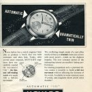 Vintage 1953 Movado A Daring Improvement in Watchmaking Publicite Suisse Montres Swiss Print Ad