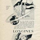 Vintage 1953 Longines Precious As Time Itself Swiss Print Ad Publicite Suisse Montres Switzerland