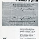 Nivarox SA A Bon Spiral Publicite Suisse Vintage 1969 Swiss Print Ad Horology Horlogerie