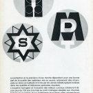 Vintage 1969 Association Metallurgique SA Boillat SA Switzerland Swiss Print Ad Publicite Suisse