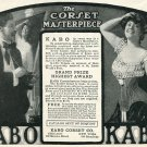 1905 Kabo Corset Co Chicago New York Lingerie Original Early 1900s Print Ad Advert Publicite
