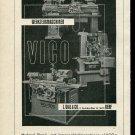 Vintage 1947 VICO L Vial & Co Genf Swiss Print Ad Publicite Suisse Schweiz Switzerland