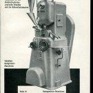 Vintage 1947 Conrad Sigg Machine Co Zurich Swiss Print Ad Publicite Suisse Schweiz Suiza