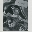 Vintage 1947 Marvin Watch Company Montres Marvin SA Switzerland Swiss Ad Advert Suisse Publicite