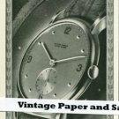 Vintage 1945 Ulysse Nardin Watch Co Switzerland Swiss Print Ad Suisse Publicite Montres Schweiz