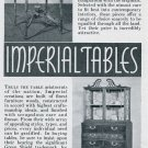 1936 Imperial Tables Grand Rapids MI Michigan Vintage 1930s Print Ad Publicite Advert