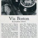 1936 Heinz Boston Baked Beans Vintage 1930s Print Ad Publicite Advert Heinz 57
