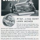Vintage 1936 Yard-Man Lawn Mower Jackson MI Michigan 1930s Print Ad Publicite Advert