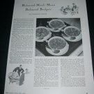 Vintage 1936 Heinz 57 Varieties Balanced Meals Mean Balanced Budgets Original 1930s Print Ad