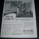 Vintage 1936 Monel Metal Whitehead Metal Products International Nickel Co 1930s Print Ad Advert