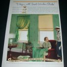 Original 1936 The Window Shade Institute The Well Dressed Window Vintage 1930s Print Ad Advert