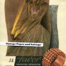 Vintage 1945 SA Favor Locarno Jewelry Co 1940s Swiss Print Ad Suisse Publicite Bijouterie Ad