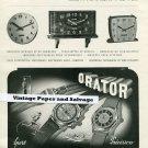 Vintage 1945 Schild & Co SA Switzerland Orator Reform 1940s Swiss Print Ad Suisse Publicite