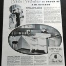 Vintage 1936 Magic Chef American Stove Company Gas Range St Louis MO 1930s Print Ad Advert