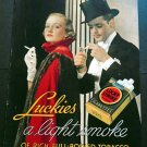 Original 1936 Luckies Lucky Strike Cigarettes Tobacco Smoke Smoking 1930s Print Ad Publicite Advert