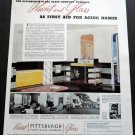 Original 1936 Pittsburgh Plate Glass Company Pittsburgh PA 1930s Print Ad Publicite Advert