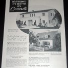 Original 1936 Portland Cement Association Concrete Chicago IL 1930s Print Ad Publicite Advert
