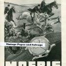 Vintage 1945 Moeris Watch Co St-Imier Switzerland 1940s Swiss Print Ad Suisse Publicite Montre