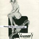 Original 1945 Bremon Watch Company La Chaux-de-Fonds 1940s Suisse Publicite Montres Swiss Print Ad