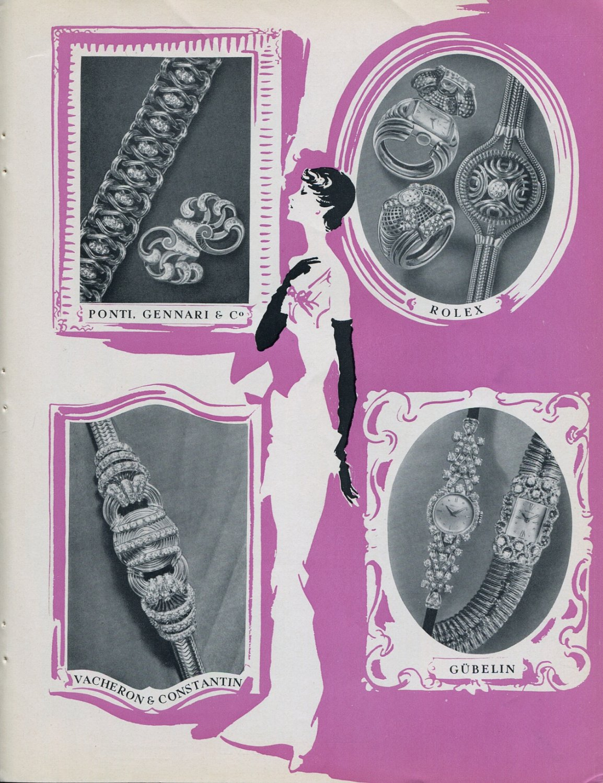 1949 Geneva Jewels Watches Exhibition Jaeger-Le Coultre Patek Philippe Audemars Piguet Omega Rolex