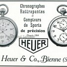 Original 1931 Heuer Watch Co Swiss Print Ad Publicite Suisse Montres Ed Heuer & Co