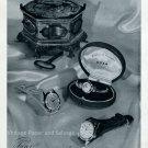 1952 Doxa Watch Company Switzerland Original Swiss Print Ad Publicite Suisse Montres Doxa SA
