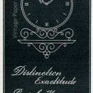 Vintage 1945 Montres Luxor SA Clock Company Switzerland 1940s Swiss Print Ad Publicite Suisse