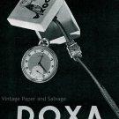 1945 Doxa Watch Company La Montre de Qualite Swiss Advert Publicite Suisse Montres Doxa SA