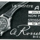 1945 ARCO Watch Company A Rossel-Conrad SA Switzerland Swiss Advert Publicite Suisse Montres