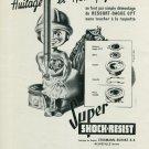 Vintage 1947 Erismann-Schinz SA Super Shock-Resist Swiss Advert Publicite Suisse