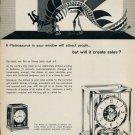 1959 Jaeger-LeCoultre Geneve Switzerland Plateosaurus Swiss Advert Publicite Suisse Atmos Clock Ad
