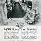 1946 Swiza Clock Company Louis Schwab SA Switzerland 1940s Swiss Advert Publicite Suisse Schweiz