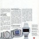 1974 Omega Megaquartz Watch Advert Swiss Magazine Ad Publicite Suisse Montres 1970s Schweiz