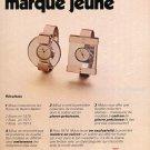 1974 Milus Watch Company Switzerland Swiss Ad Advert Publicite Suisse Montres Schweiz